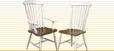 Farmhouse Lath Back Chair