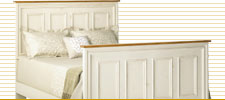 Panelled Bed