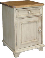 Door and Drawer End Table