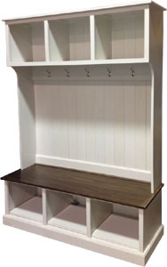 Entry Hall Cabinet Bench