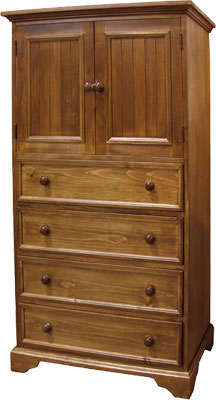 French Country Highboy Dresser