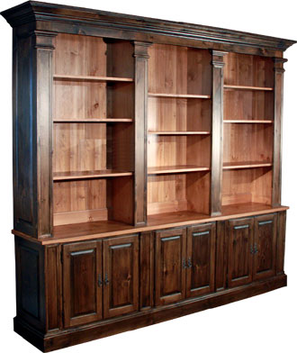 Provincial Wall Bookcase